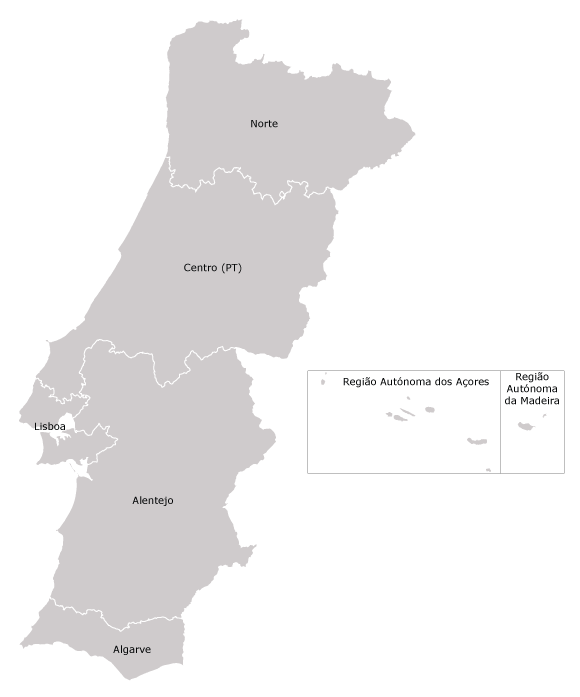Portugal - Portugal map png