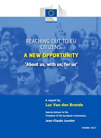 "Secretary General attends presentation of Mr Luc Van den Brande report ""Reaching out EU Citizens: A new opportunity"""