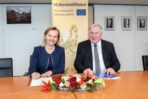 CoR and European Association of Craft, Small and Medium-sized Enterprises (UEAPME) join forces to defend a strong cohesion policy after 2020