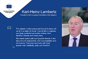 Karl-Heinz Lambertz on the the attacks in Barcelona