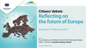 Citizens' dialogue, Podkarpackie Region: Reflecting on the future of Europe