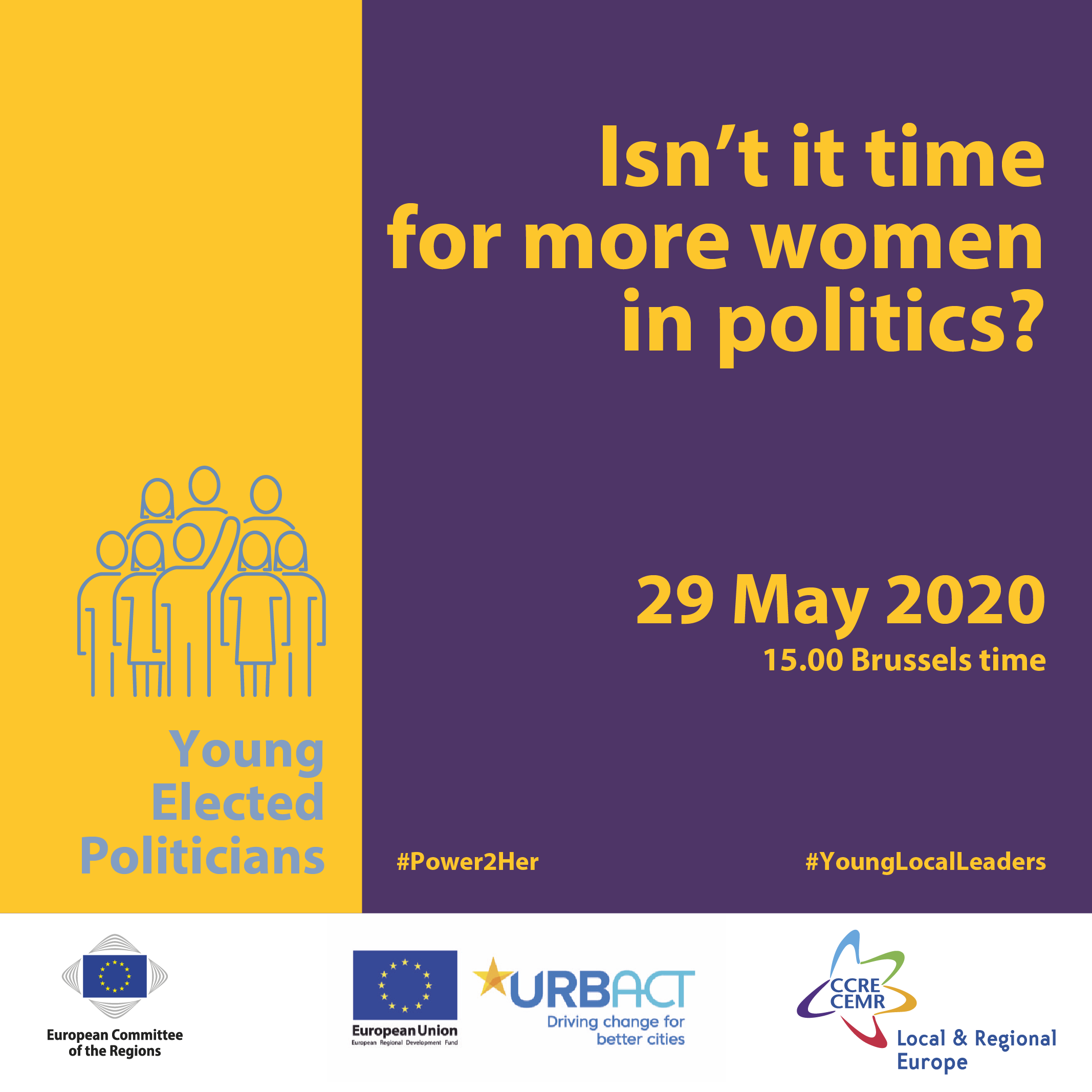 "Webinar ""Gender parity in politics: the state of play"""