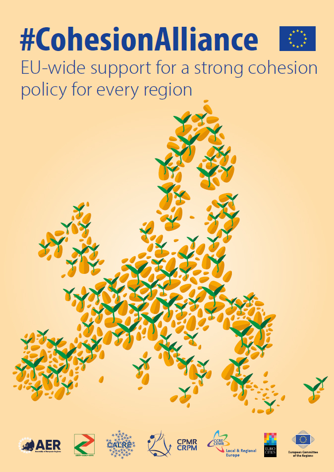 CohesionAlliance EU-wide support for a strong cohesion policy for every region