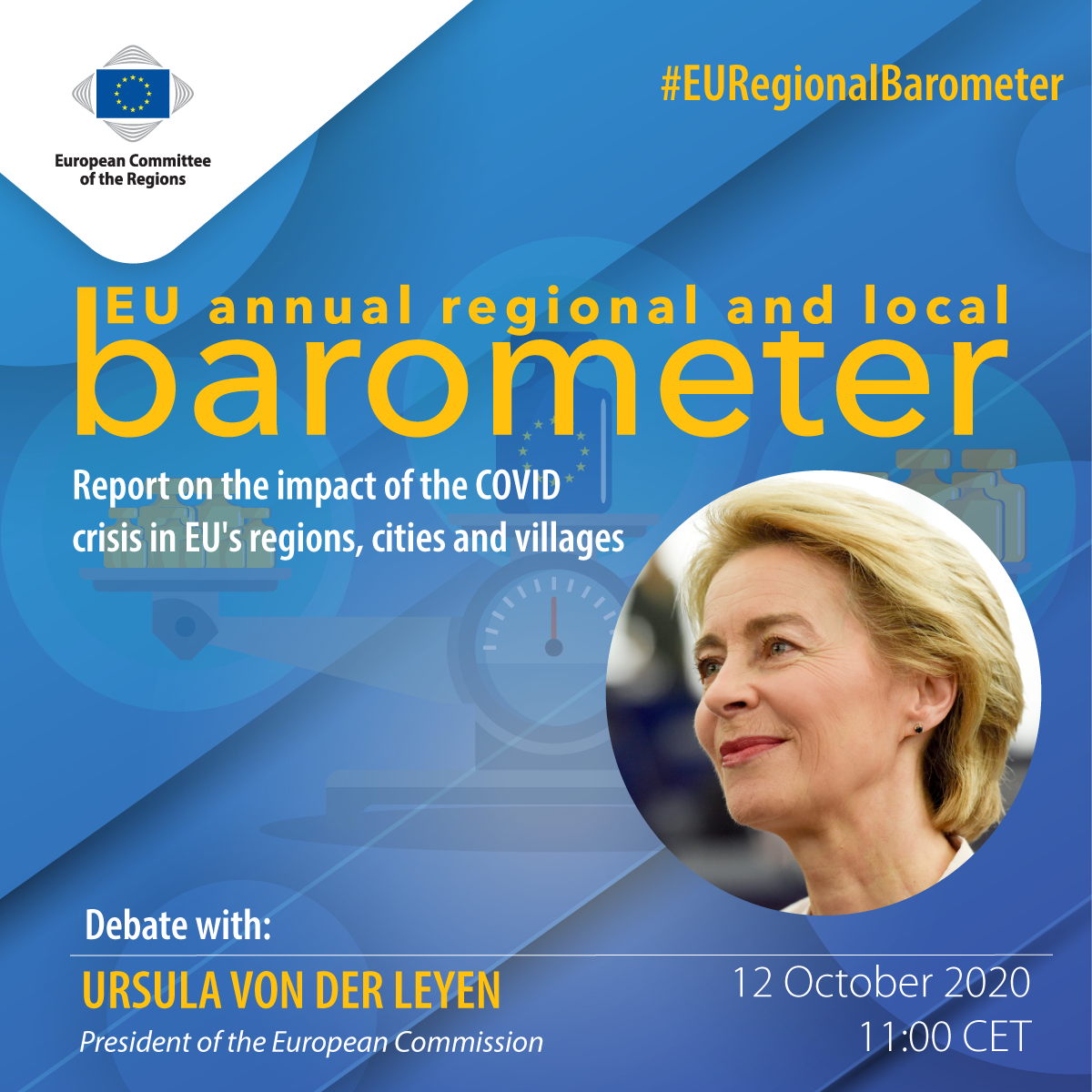 1_Debate announcement-Ursula Von Der Leyen