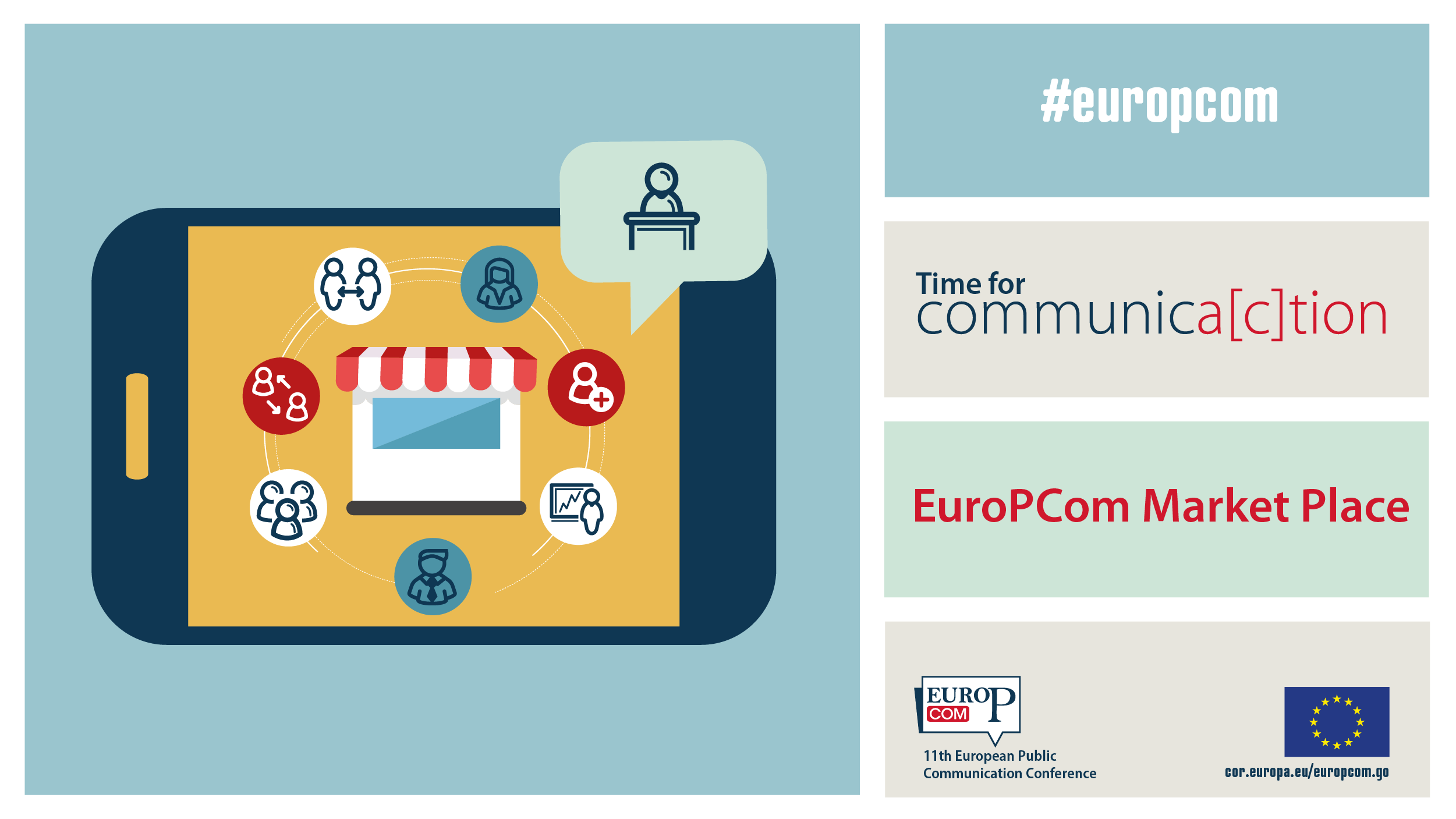 EuroPCom 2020 Market Place Twitter post 1200x675