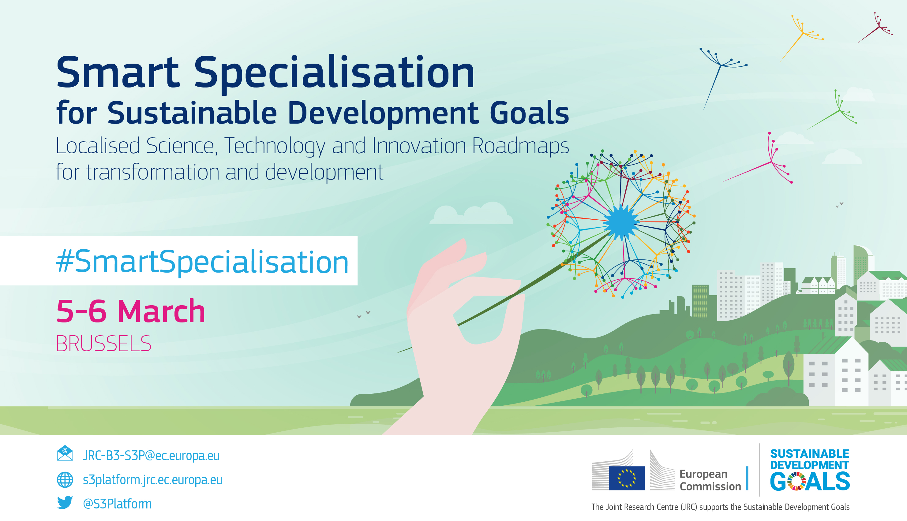CANCELLED - Smart Specialisation for Sustainable Development Goals
