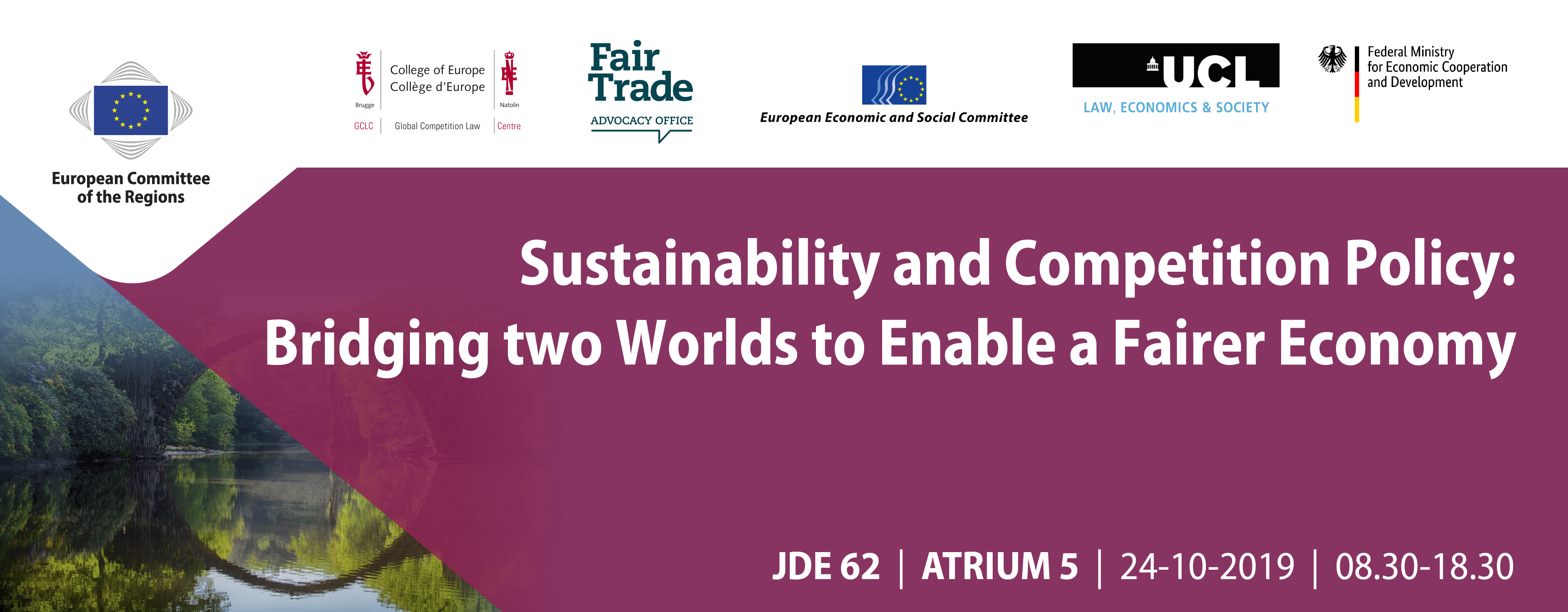 "Conference on ""Sustainability and Competition Policy: Bridging two Worlds to Enable a Fairer Economy"""