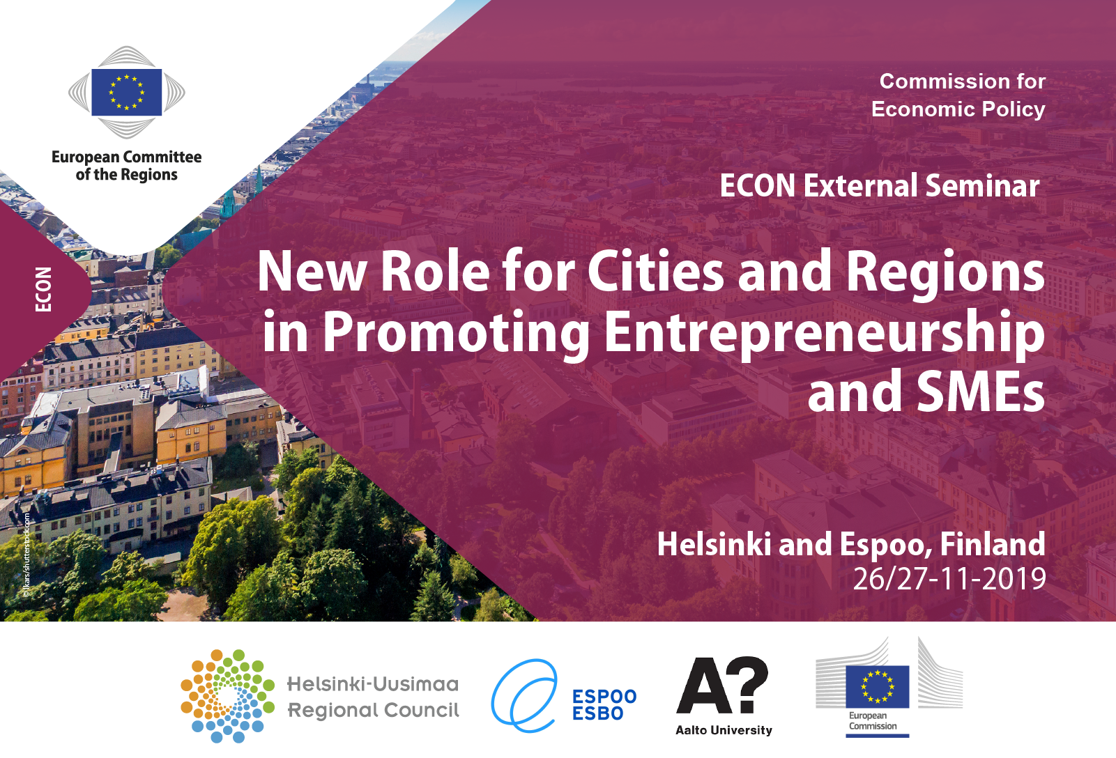 New Role for Cities and Regions in Promoting Entrepreneurship and SMEs