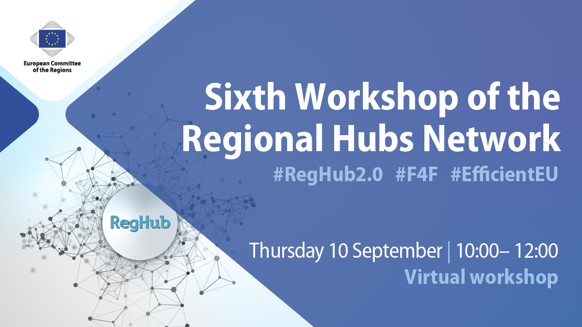 UPDATE: Düsseldorf RegHub conference goes virtual – Sixth RegHub workshop