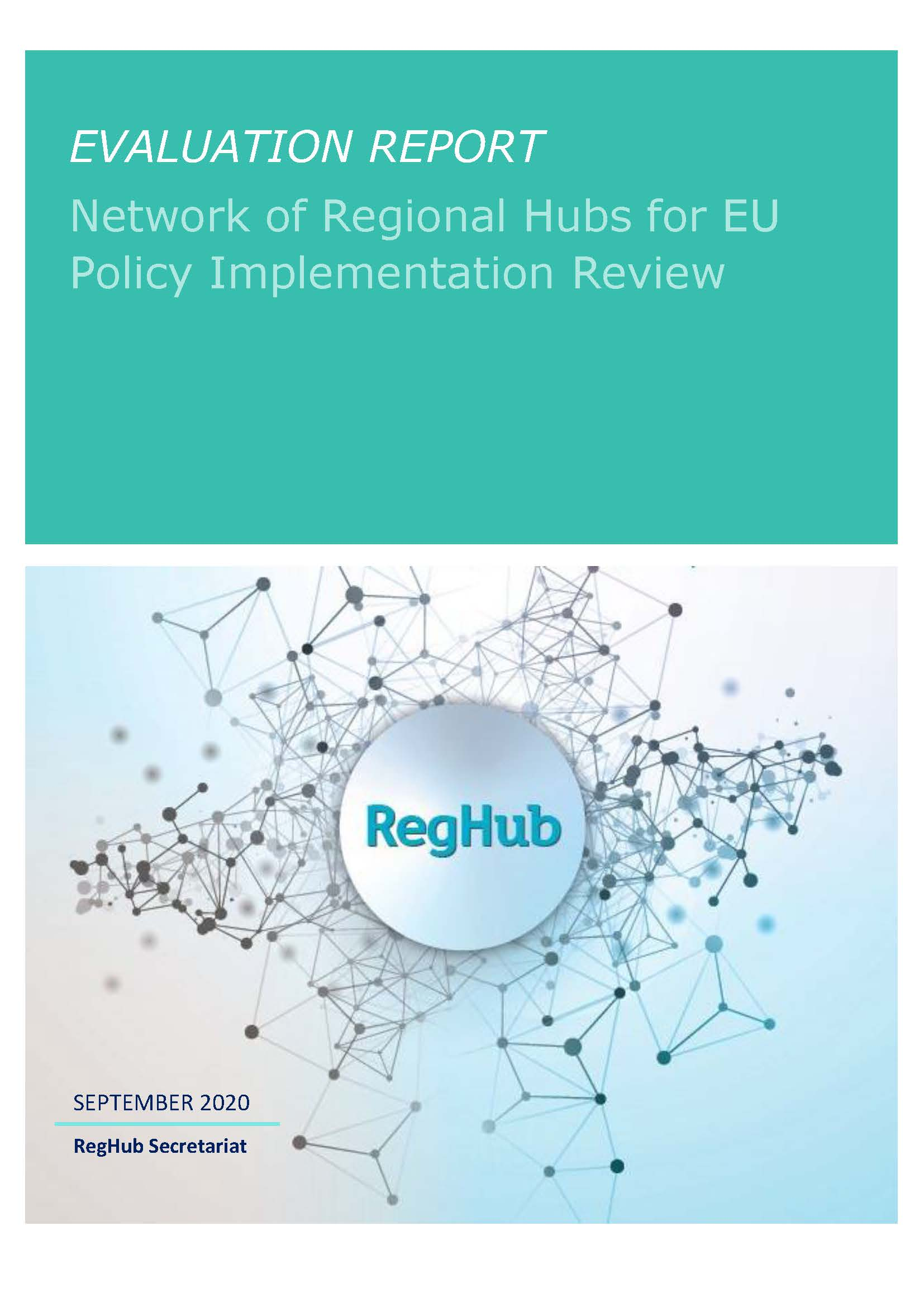 RegHub evaluation report published