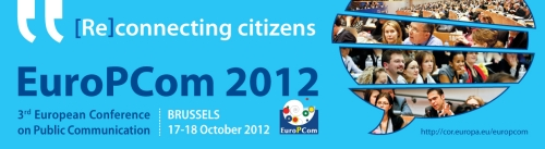 EuroPCom 2012 - 3rd European Conference on Public Communication