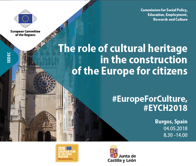 The role of cultural heritage in the construction of the Europe for citizens