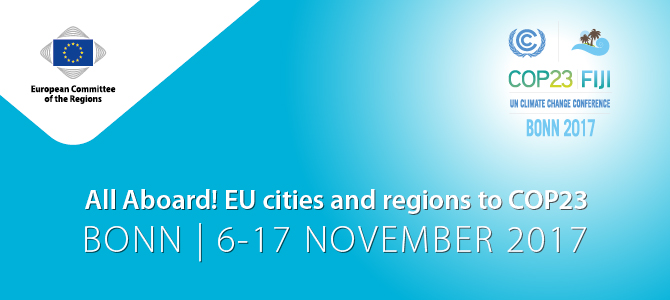 All Aboard! EU cities and regions to COP23
