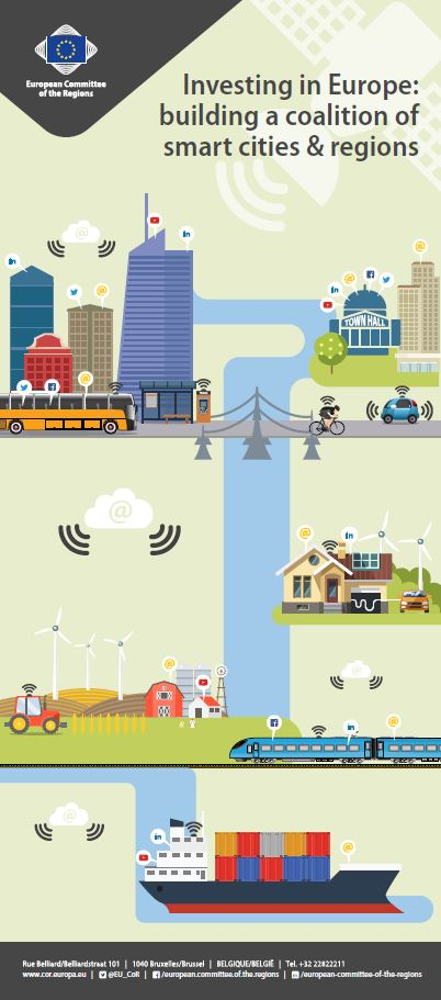 Investing in Europe: building a coalition of smart cities & regions
