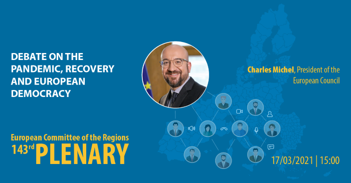 Debate on the Pandemic, Recovery and European Democracy - Statement by Charles MICHEL, President of the European Council