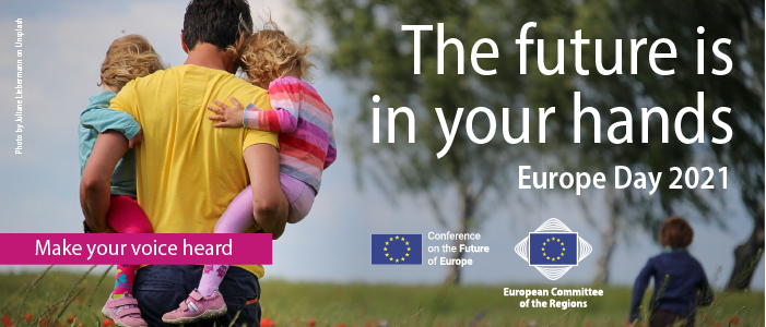 Europe Day 2021 – The future is in your hands