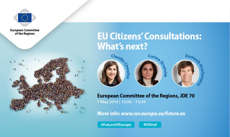EU Citizens' Consultations: What's Next? Grassroots examples: European prospects