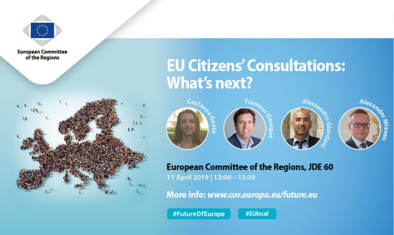 EU Citizens' Consultations: What's next? Grassroots examples - European prospects
