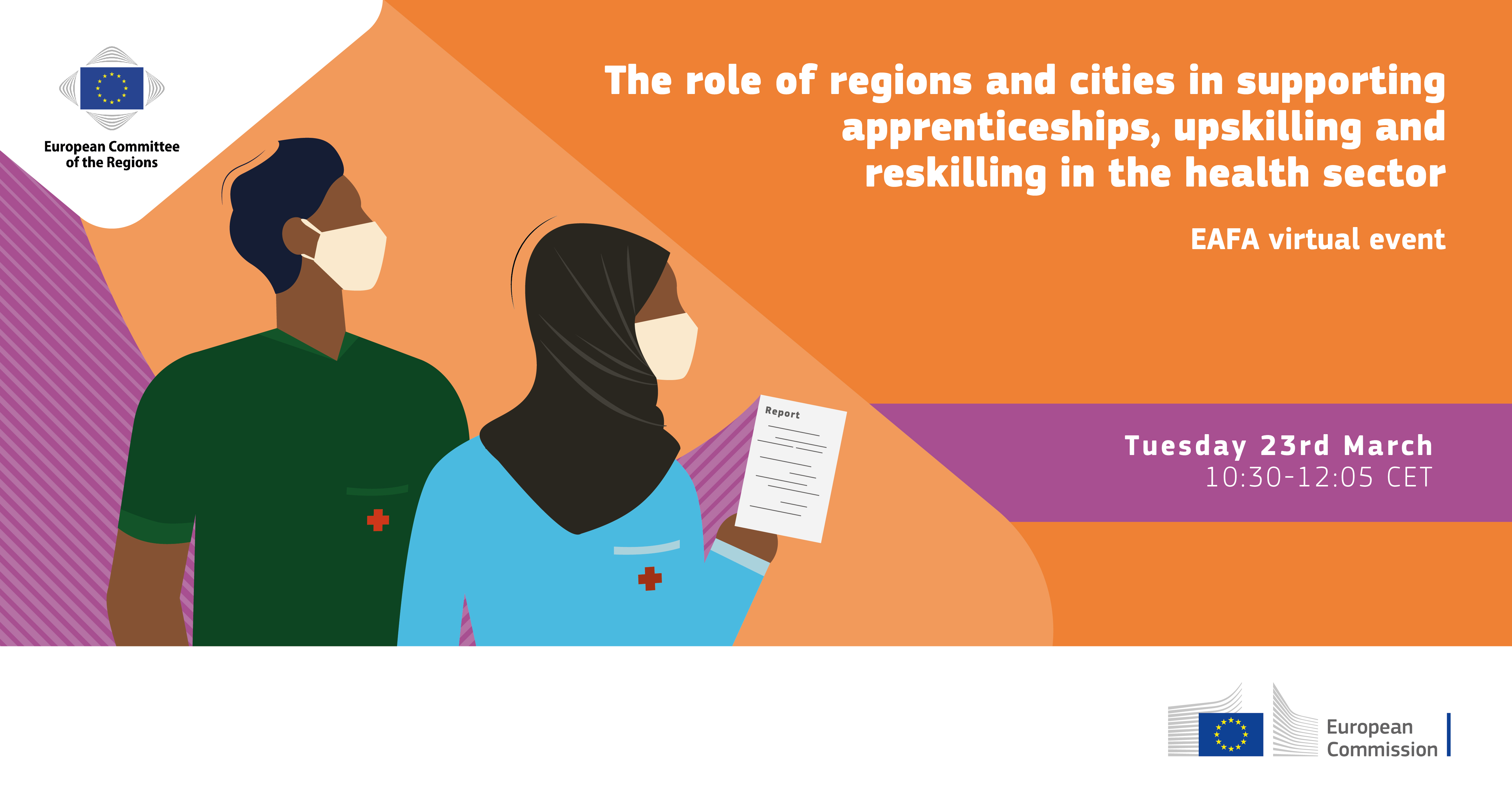The role of regions and cities in supporting apprenticeships: upskilling and reskilling in the health sector