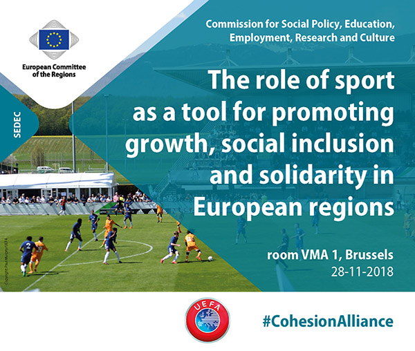 The role of sport as a tool for promoting growth, social inclusion and solidarity in European regions