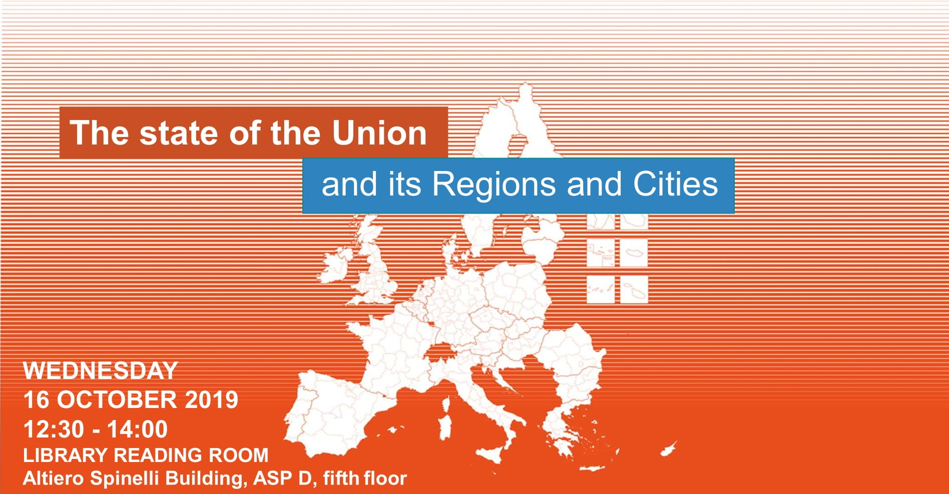 State of the Union : The view from the regions and cities