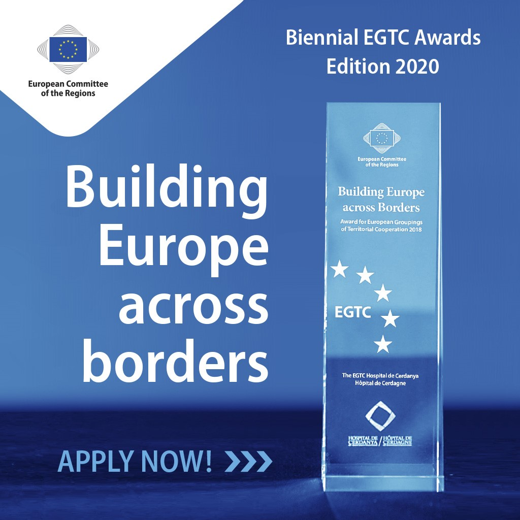 Call for applications: EGTC Awards 2020