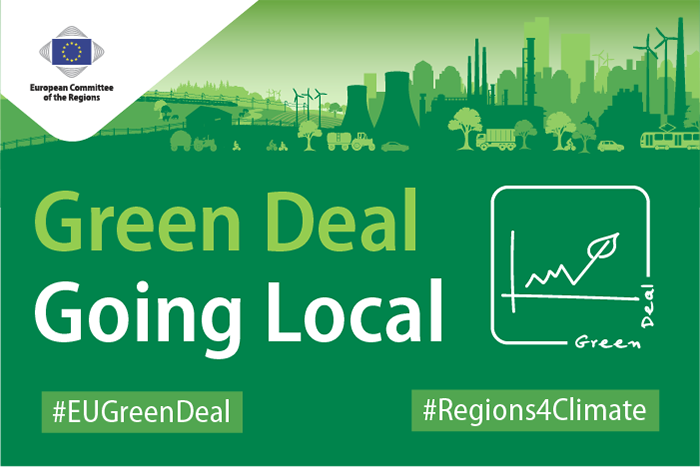 Il Green Deal europeo a livello locale
