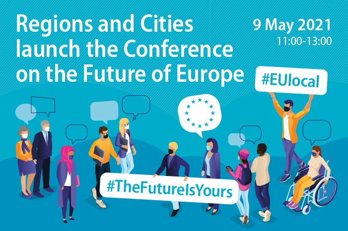 On 9 May regional and local leaders will discuss with citizens how to bring the Conference on the Future of Europe to regions, cities and villages across the EU