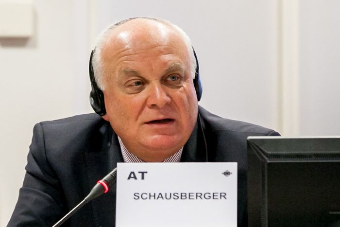 Franz Schausberger (AT/EPP). ARCHIVE