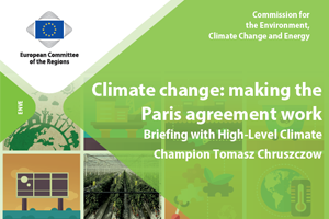 Climate change: making the Paris agreement work. Briefing with High-Level Climate Champion Tomasz Chruszczow