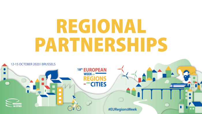 Partner search tool for #EURegionsWeek 2020 Regional Partnerships is open until 19 February