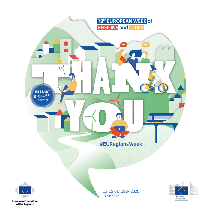 #EURegionsWeek 2020: Thank You!