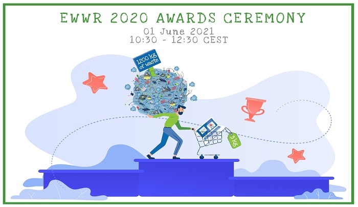 The European Week for Waste Reduction Awards announces its 2020 finalists