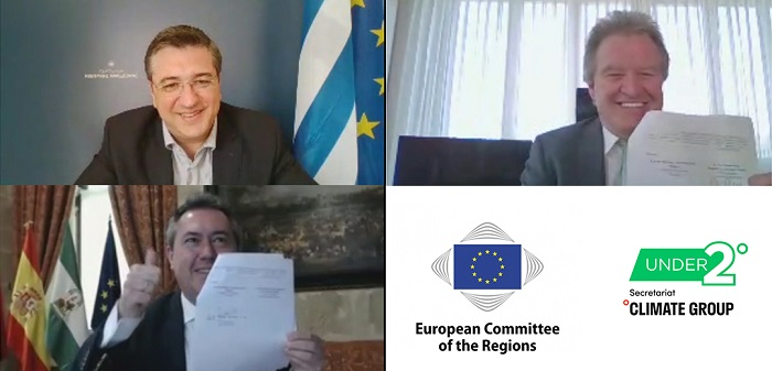Climate action: European Committee of the Regions and Under2 Coalition sign Action Plan