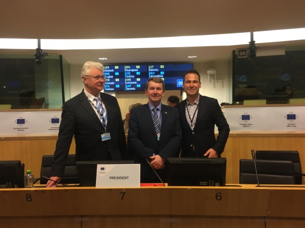 Michael Murphy from Ireland becomes new chair of the CoR's commission for Economic Policy