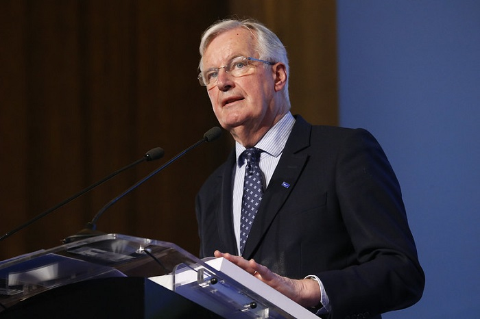 Michel Barnier and Mayor of London debate Brexit with EU regional and local leaders