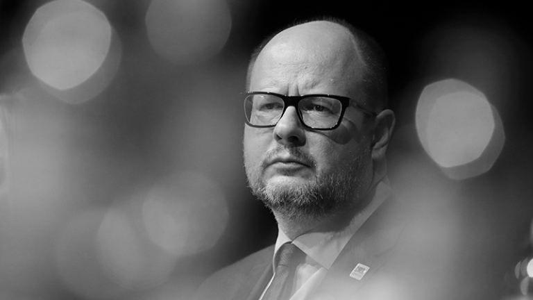Athens Democracy Forum award goes to Mayor Paweł Adamowicz