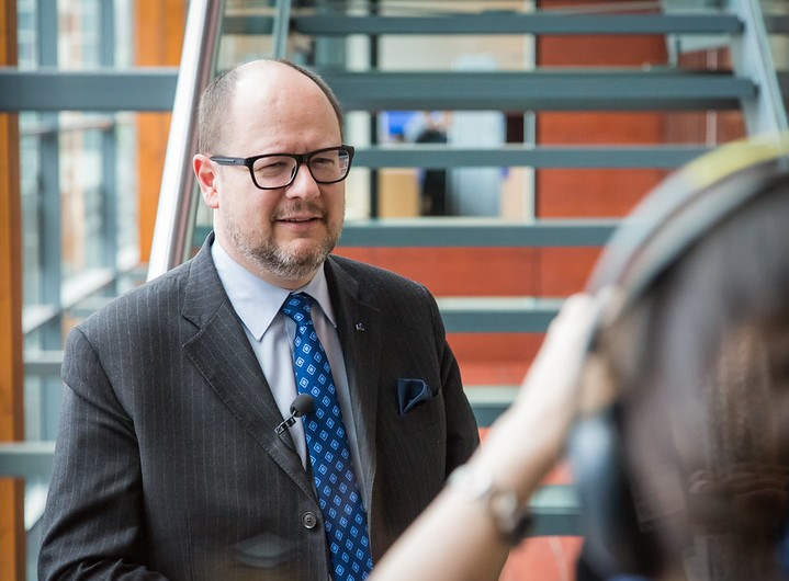 Pawel Adamowicz, mayor of Gdansk