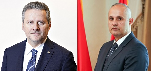 Video Tele-Conference of two JCC Montenegro Co-Chairs