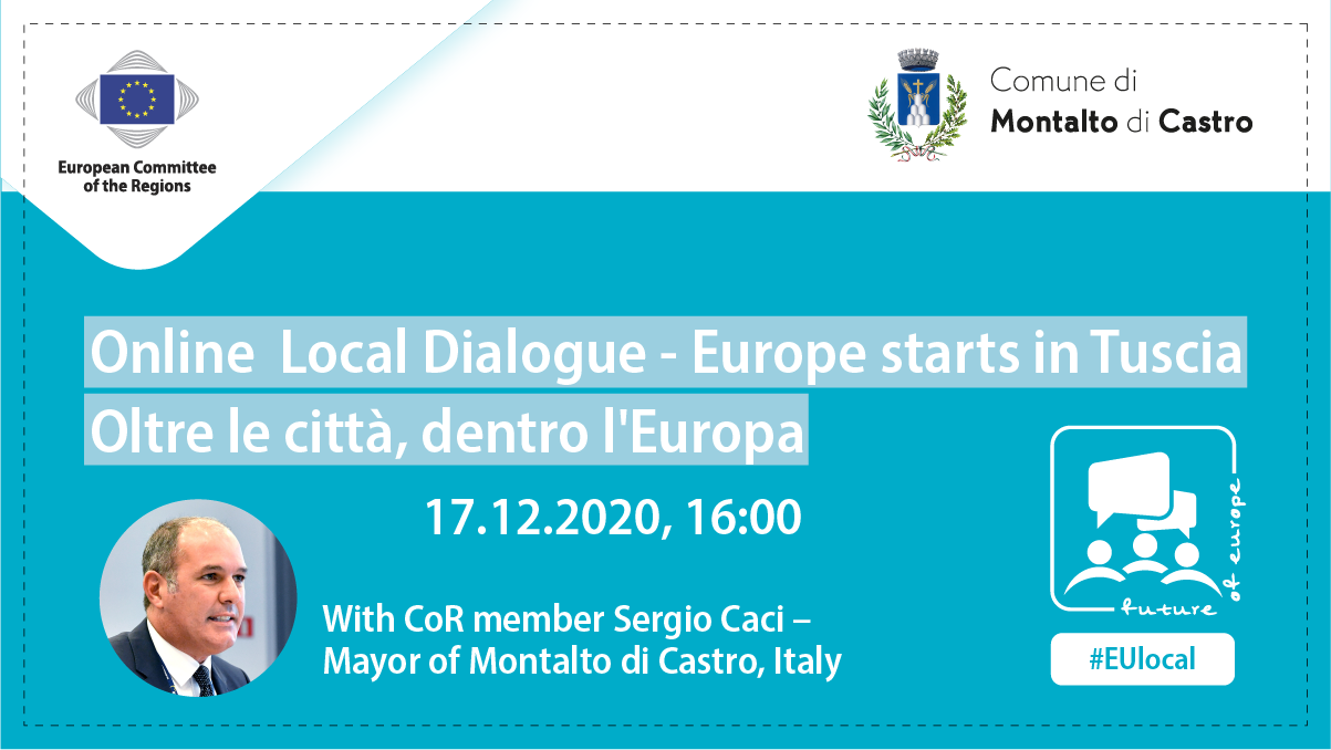 Online Local Dialogue - Europe Starts in Tuscia