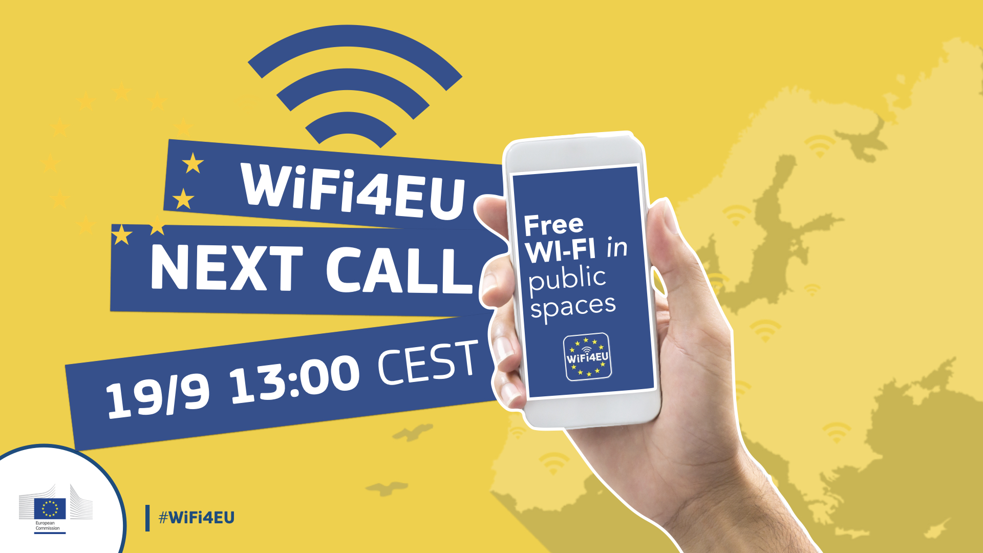 Wifi4EU- Get free WIFI for your municipality!