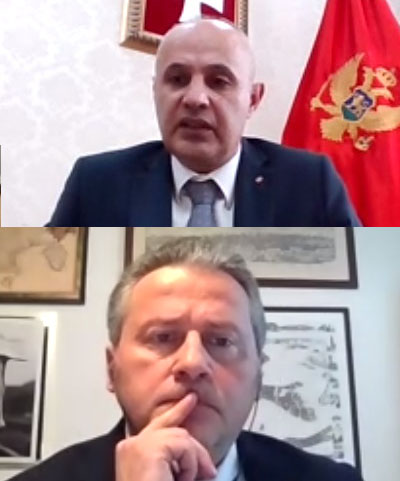 Co-Chairs of JCC Montenegro had bilateral meeting