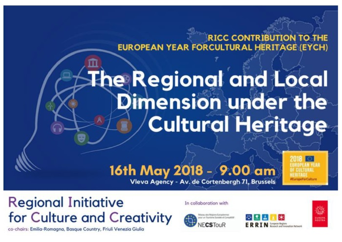 Regional Initiative for Culture and Creativity: Regions join their forces in the field of Cultural Heritage